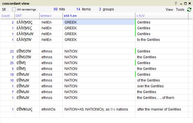 Scripture4All - Greek/Hebrew interlinear Bible software